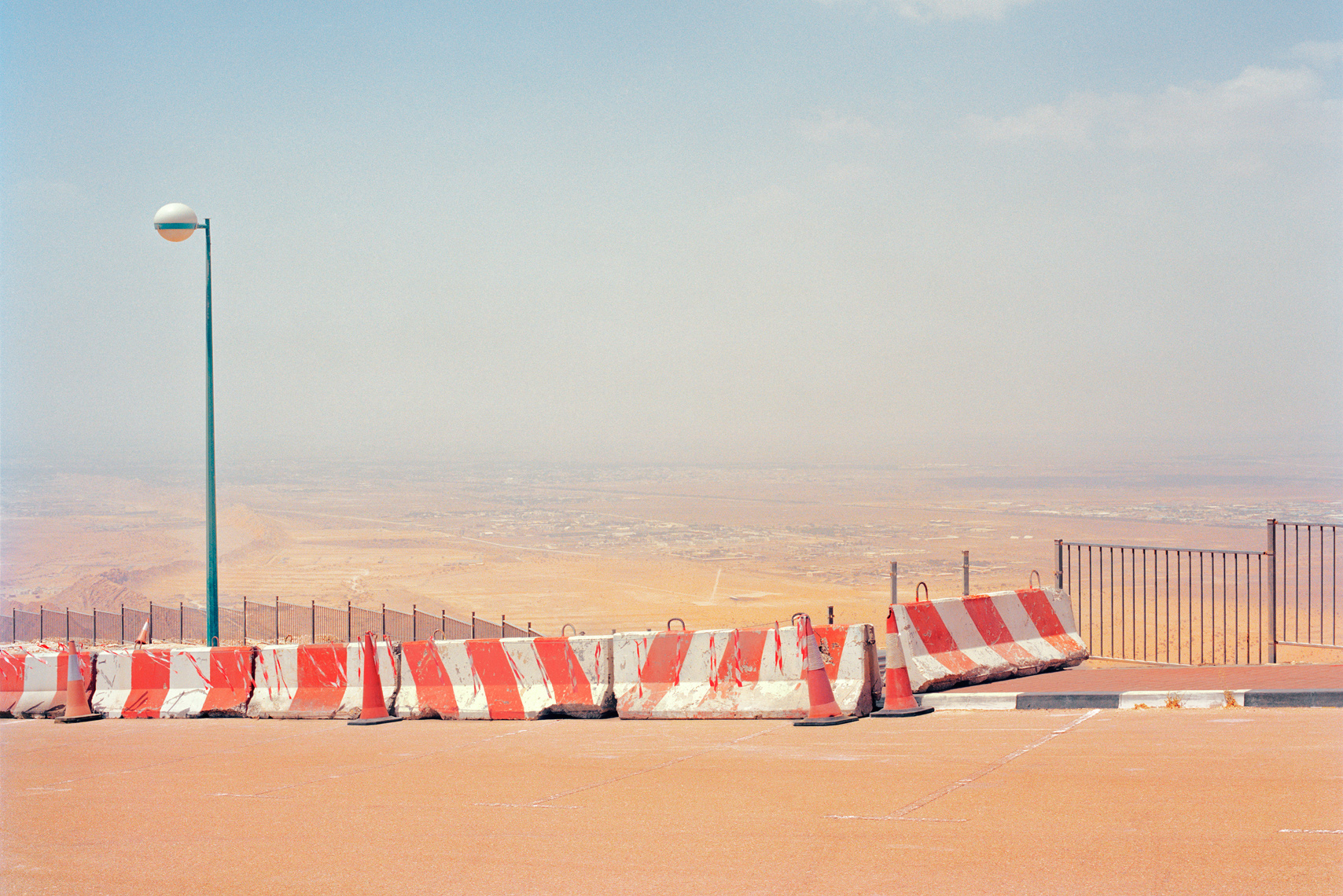 ChrisSisarich_AbuDhabi_Red-White-Barrier